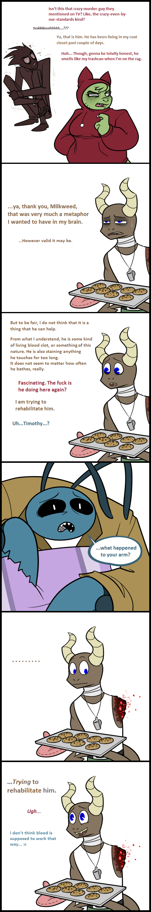 TGf MiniComic - Cookies by MindofGemini