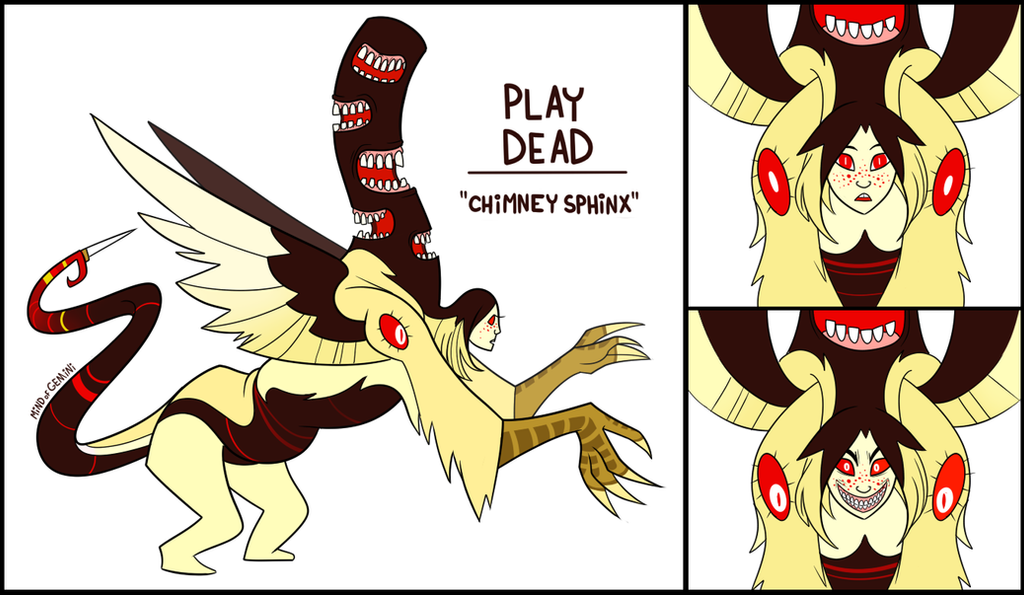 Play Dead - Chimney Sphinx by MindofGemini
