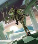 Gemsona Fusion - Green Serpentine