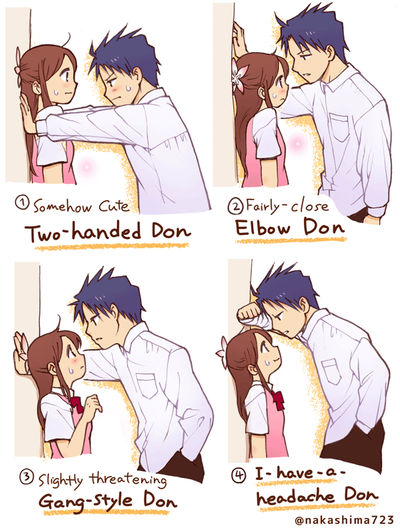 Which Kabe-don Do You Love? by nakashima3