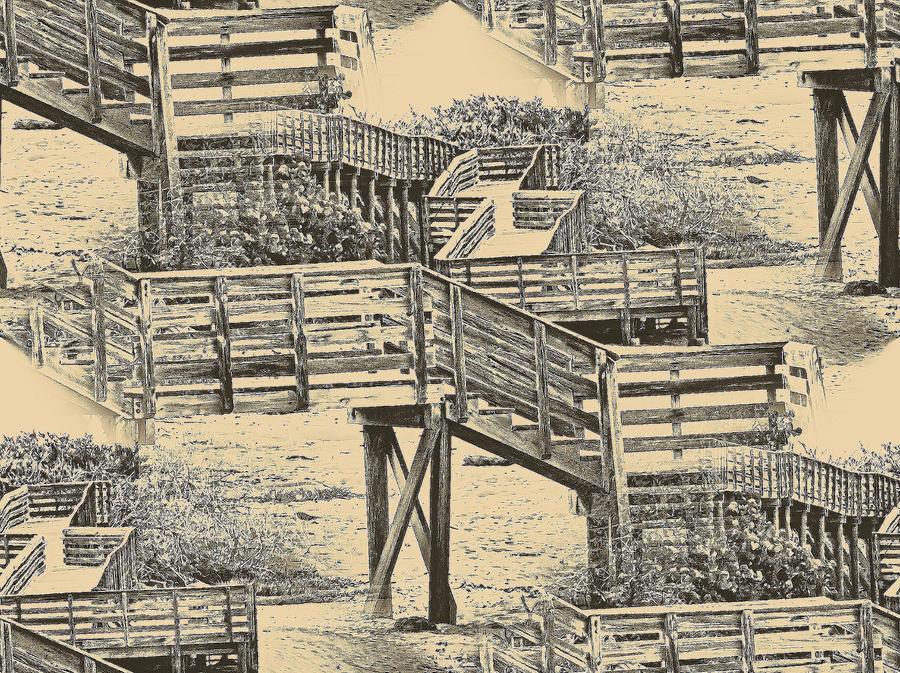 Walk The Deck by OneClownShoe