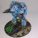 MWO Timberwolf, N Scale - Front by Karlosrolero