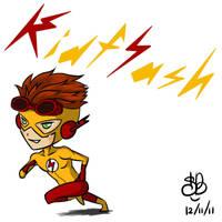 YJ Chibi project 1 - Kid Flash by sanekkuburai