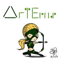 YJ Chibi project 1 - Artemis by sanekkuburai