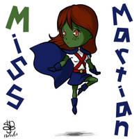 YJ Chibi project 1 - Miss Martian by sanekkuburai