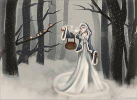 Pani Zima #1 by Lalkhamsin