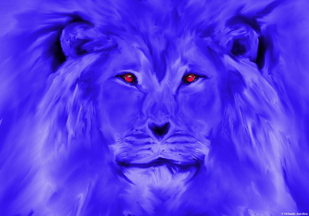 Blue Lion by aurando