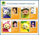 Teletubbies' Look-A-Likes