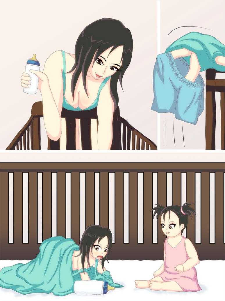 Mother Falls Into Her Baby S Crib By Ar Kayn On Deviantart