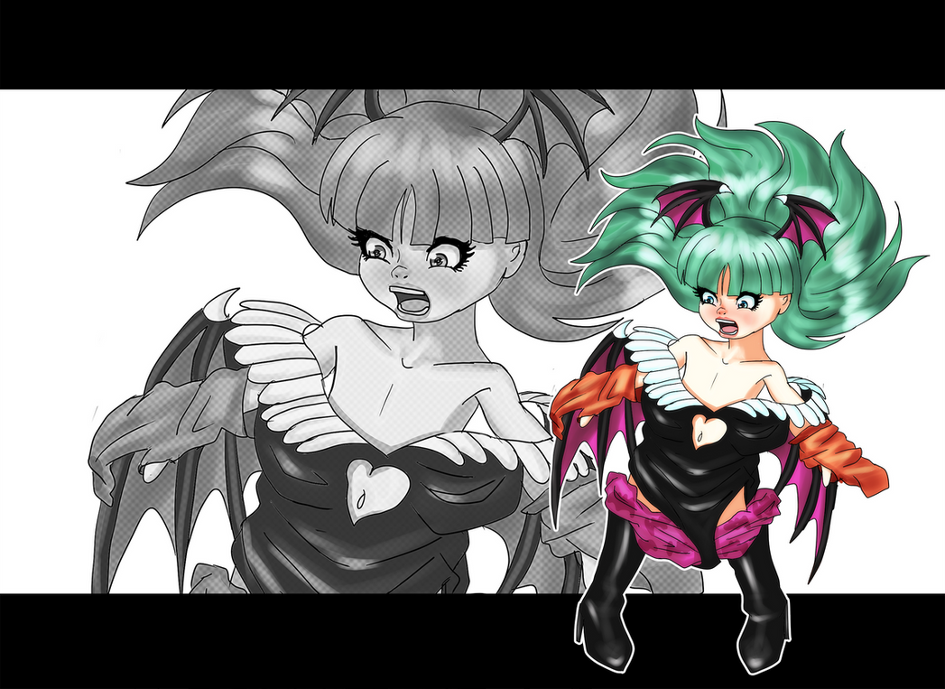 Morrigan Aensland AR by Ar-Kayn