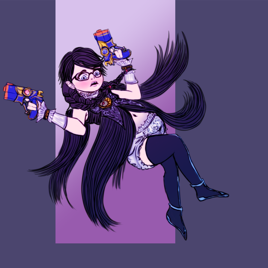 Daily Regress - Bayonetta by Ar-Kayn