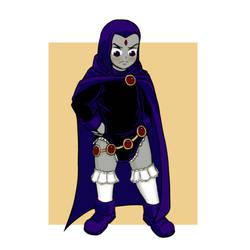 Raven AR (Teen Titans) by Ar-Kayn