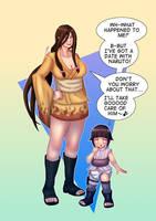 Hanabi and Hinata Age Swap (Naruto) by Ar-Kayn