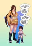 Hanabi and Hinata Age Swap (Naruto)