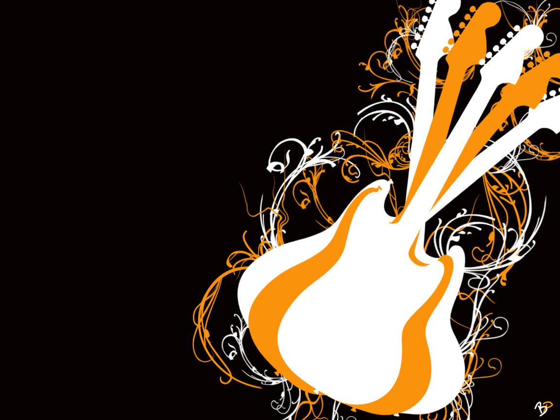 free guitar wallpaper