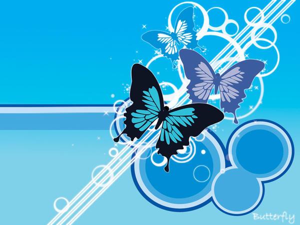 Vector Butterfly wallpaper