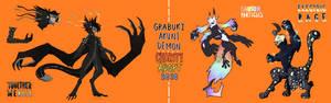 (CLOSED) Grabuki + Akuni Demon BLM Pride Charity