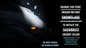 INFO BELOW |Trigger The First Snowflake Side Event