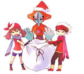 Pokemon Deoxys Brice Flora by mikustyle