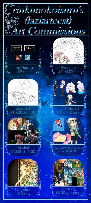 Commission Prices by rinkunokoisuru