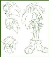 Sonic Underground Redesign: Manic by rinkunokoisuru