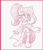 Sonic Undeground Redesign: Mindy LaTour by rinkunokoisuru