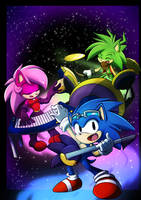 The Sonic Underground by rinkunokoisuru