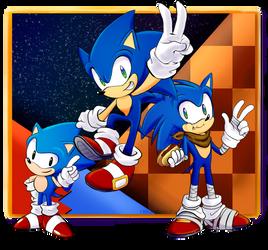 Triple Sonic by rinkunokoisuru
