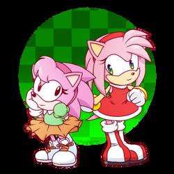 Double Amy by rinkunokoisuru