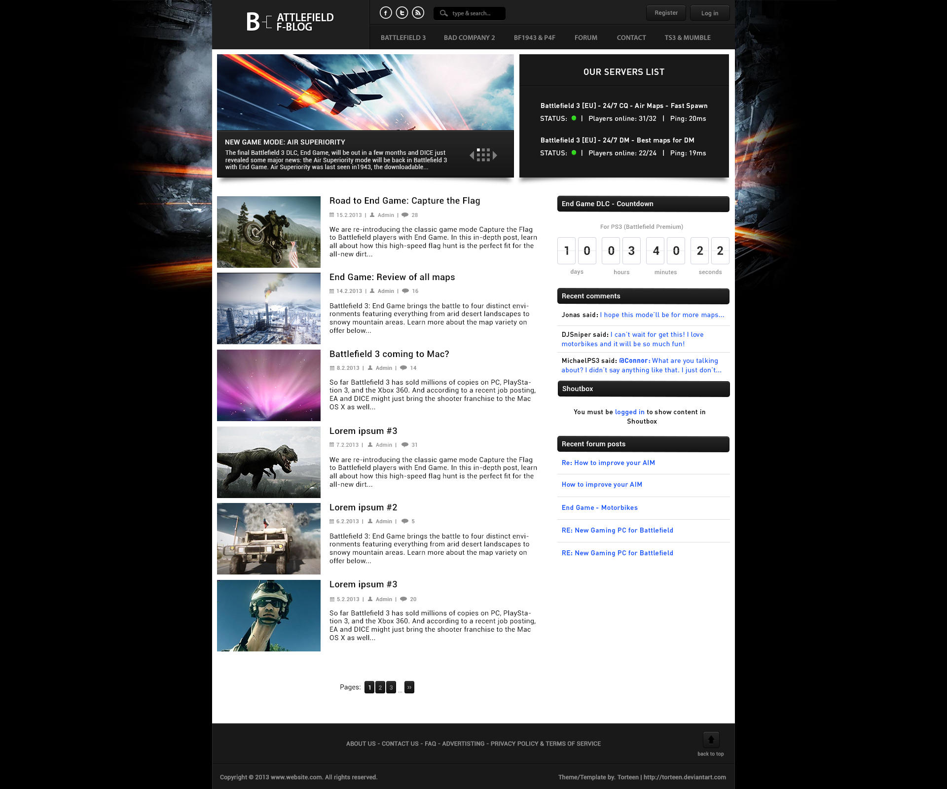Redesign [Template, Blog-Style] By ToRTeEn On