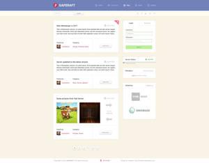 GafeRaft -  Blog-Style Design