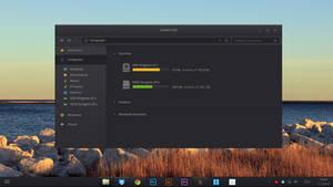 Windows 8 Dark Theme [concept] | PSD INCLUDED