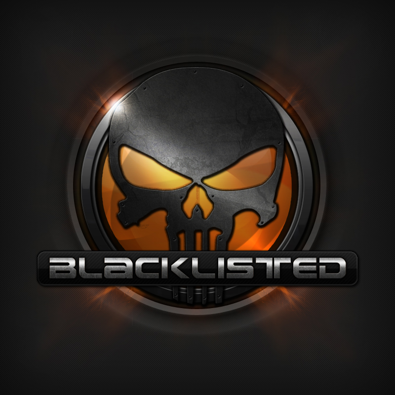 blacklisted clan gaming logo by nulumia on deviantart
