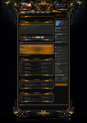 Xenforo Theme Enforcer Orange by Nulumia by Nulumia