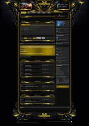 Xenforo Theme Enforcer Yellow by Nulumia by Nulumia