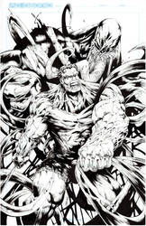 Hulk vs Venom by acosorio