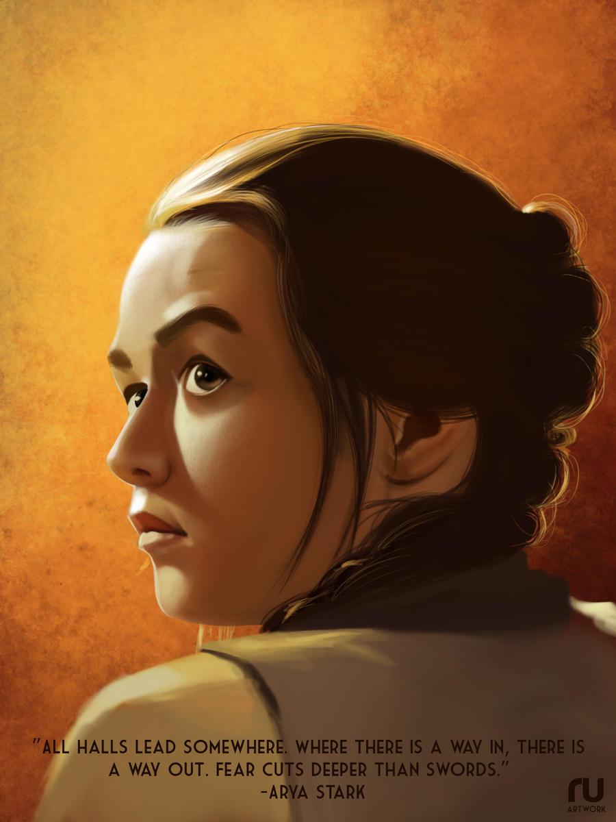 Arya Stark Game Of Thrones By RahulUjjal On DeviantArt
