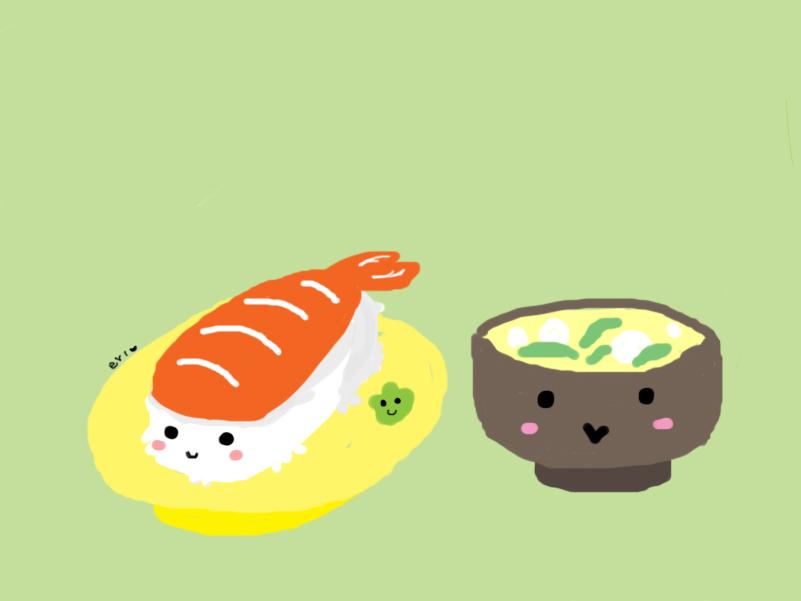 Sushi Wallpaper By Uchi Nanchu On Deviantart