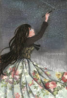 Painting Stars by CoDLia