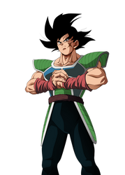 Bardock 2018 with Retro Colors by obsolete00