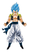 Super Saiyan Blue Gogeta by obsolete00