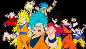 Goku Collage