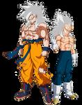 Super Saiyan ?? Goku and Vegeta
