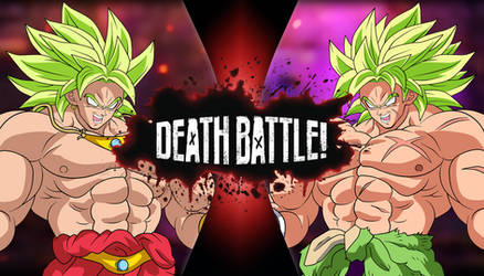 Broly vs Broly Death Battle by obsolete00