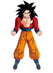 SS4 Goku DBS Colors WIP by obsolete00