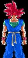Super Saiyan God Goku Jr