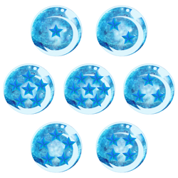 Cosmic Wish Orbs (Marvel's version of Dragonballs)