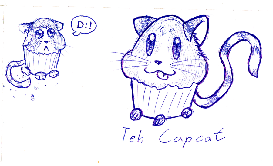 Teh Cupcat by PatchKatz