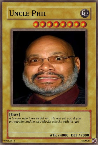 Uncle Phil Card By Urkel8534 On Deviantart