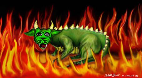 Dragon by phdmatt2002